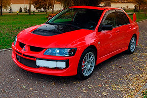 Прокат автомобиля Mitsubishi Evolution